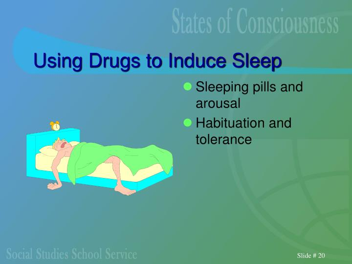Using Drugs to Induce Sleep