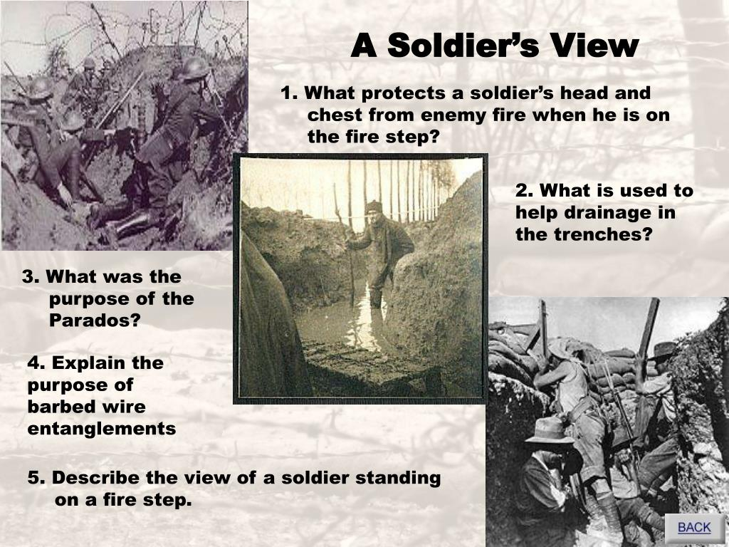 A Soldier's View