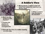 a soldier s view