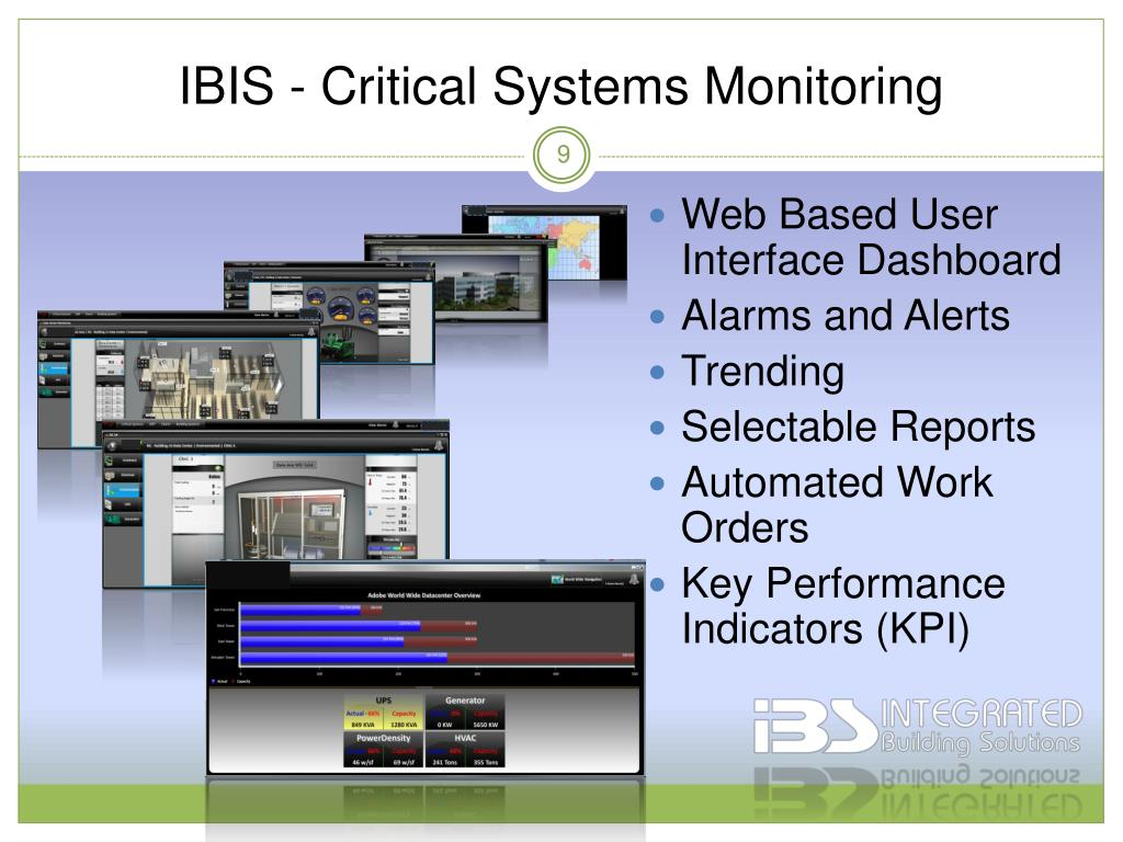 IBIS - Critical Systems Monitoring