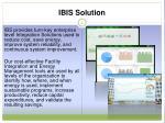 ibis solution