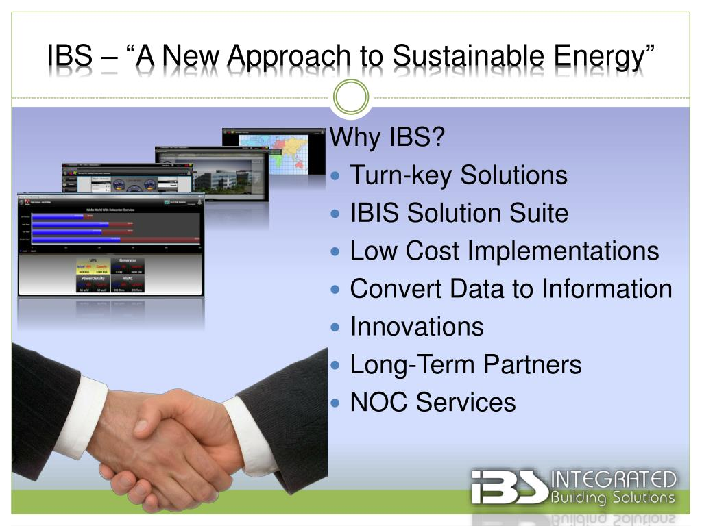 """IBS – """"A New Approach to Sustainable Energy"""""""