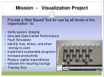 mission visualization project