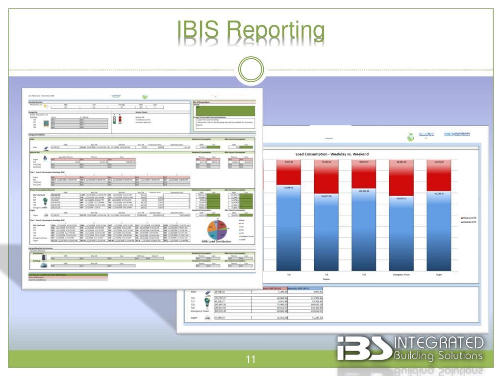 IBIS Reporting