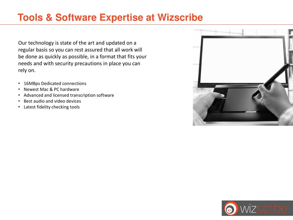 Tools & Software Expertise at