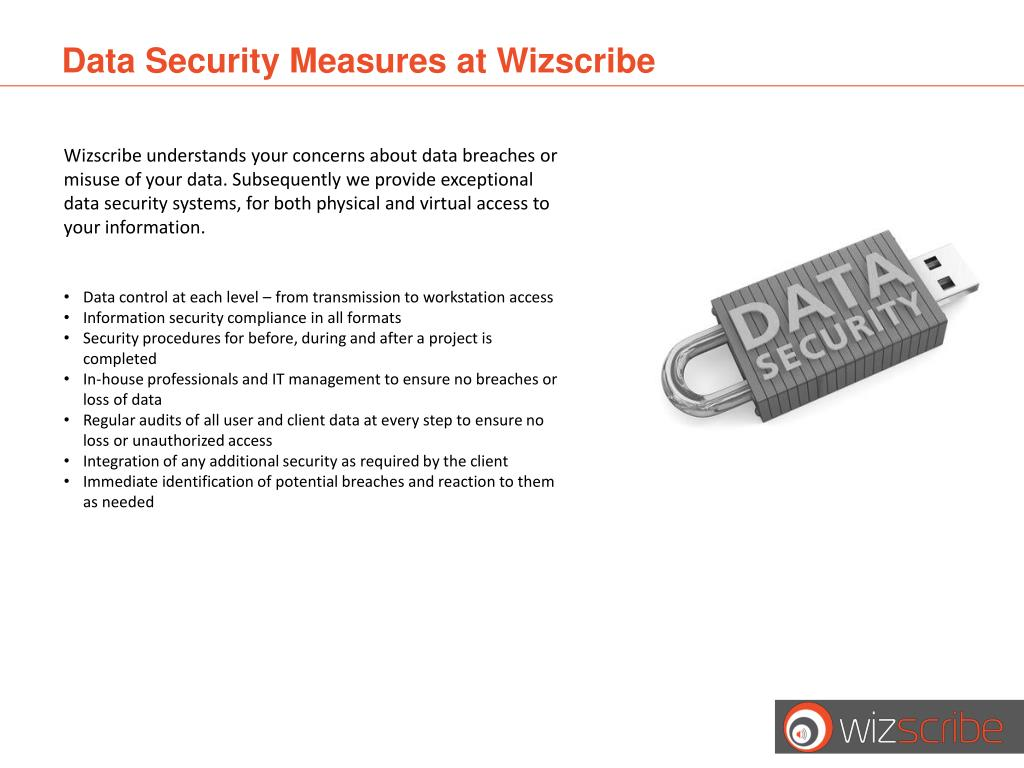 Data Security Measures at