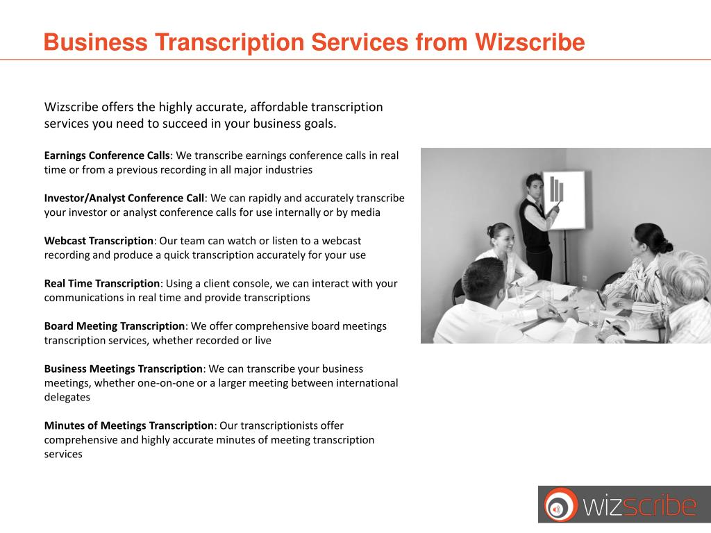 Business Transcription Services from