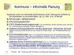 kommune informelle planung