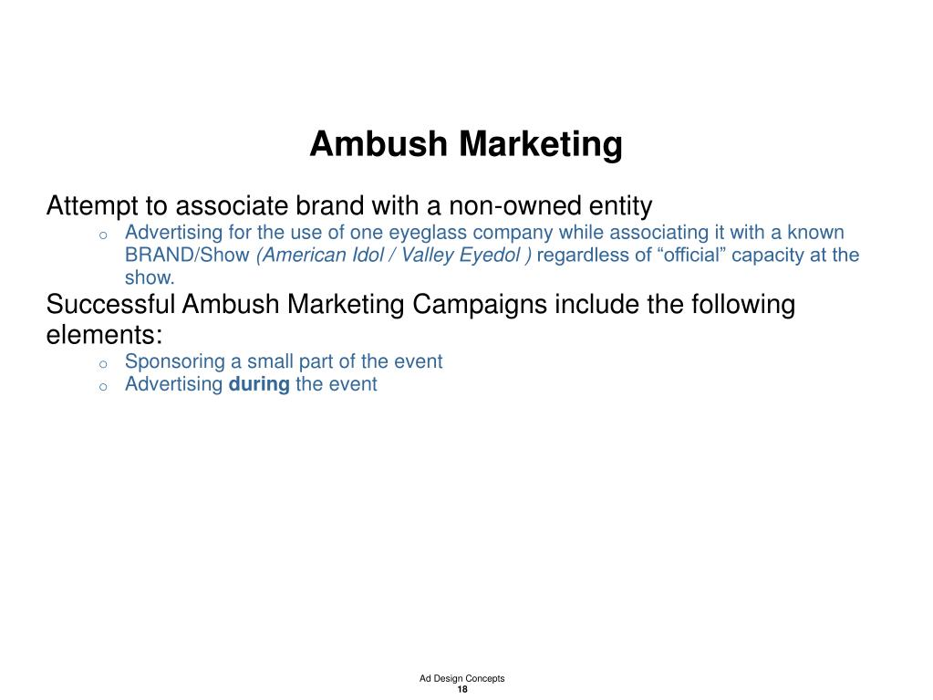 Ambush Marketing