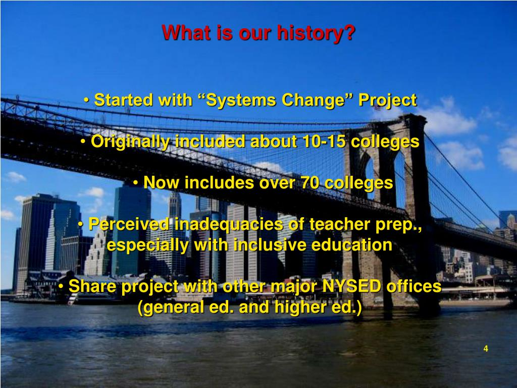 What is our history?