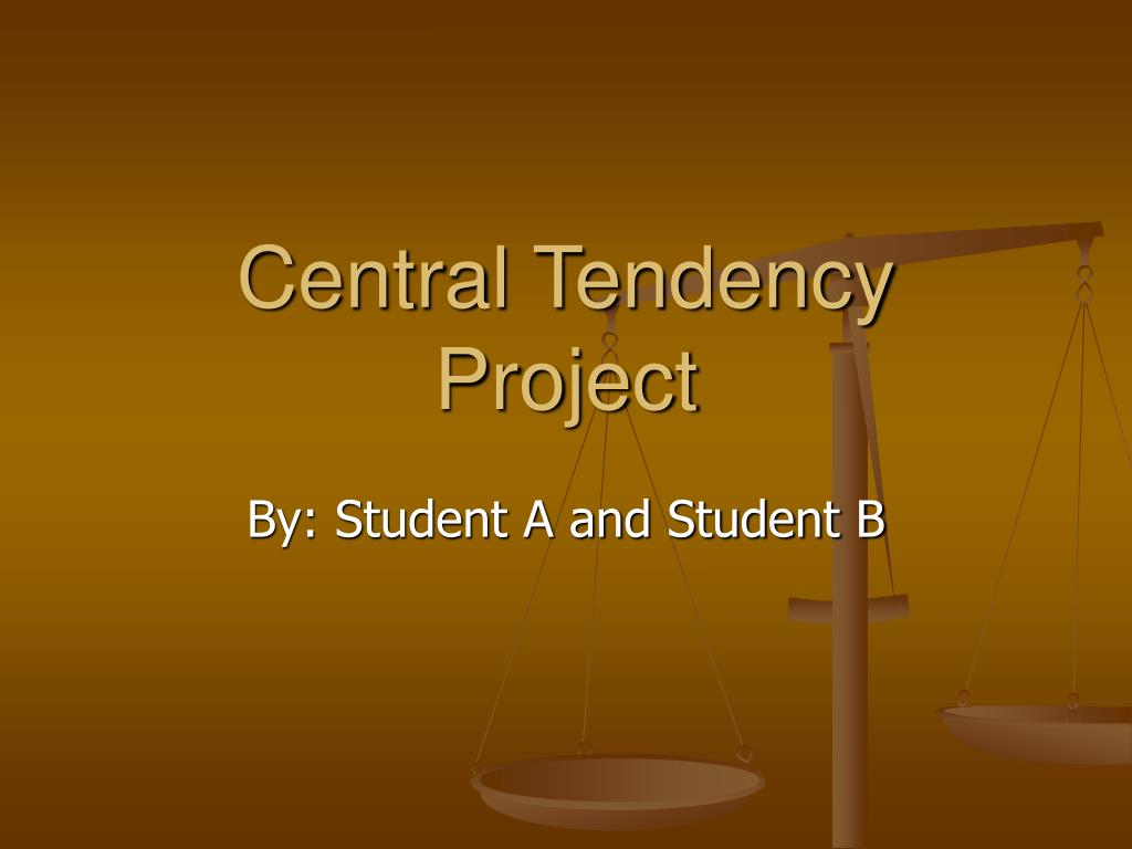 Central Tendency Project