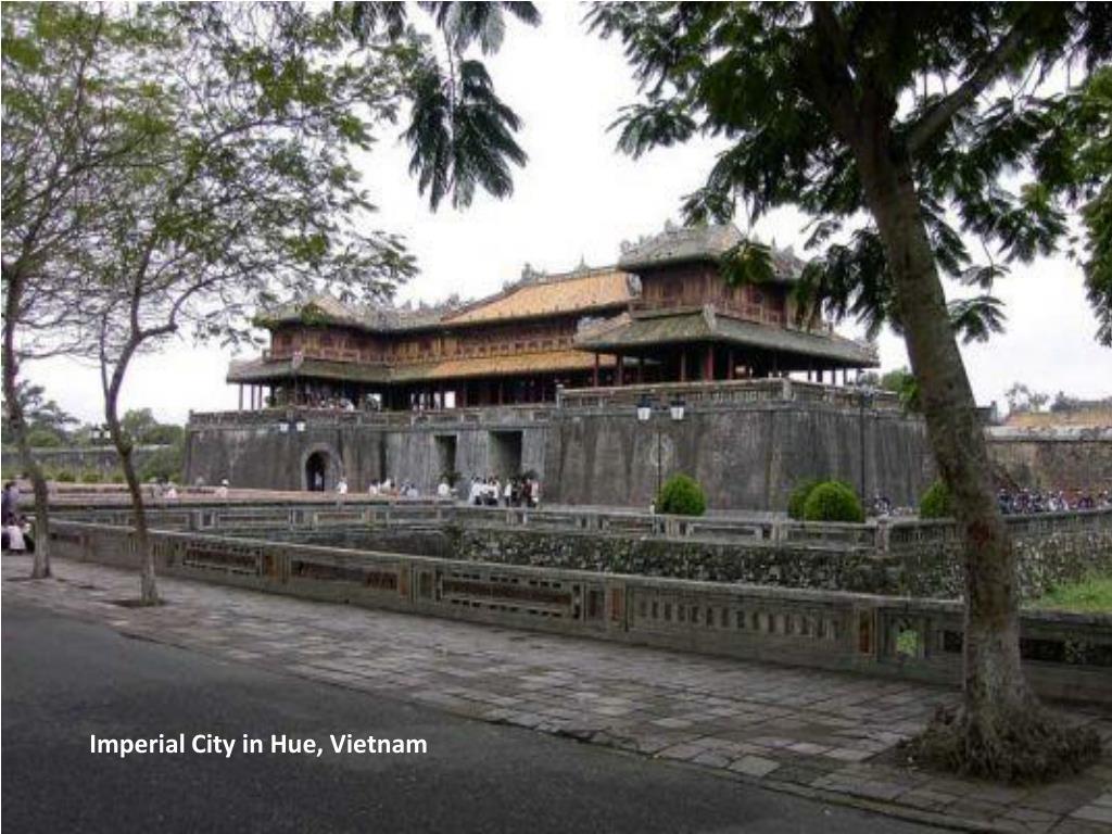 Imperial City in Hue, Vietnam