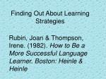 rubin joan thompson irene 1982 how to be a more successful language learner boston heinle heinle