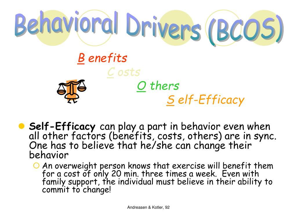 Behavioral Drivers (BCOS)