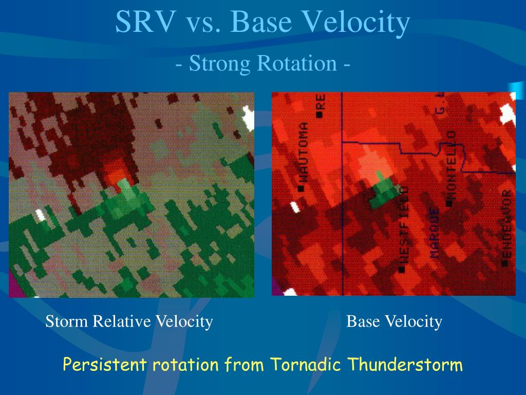 SRV vs. Base Velocity