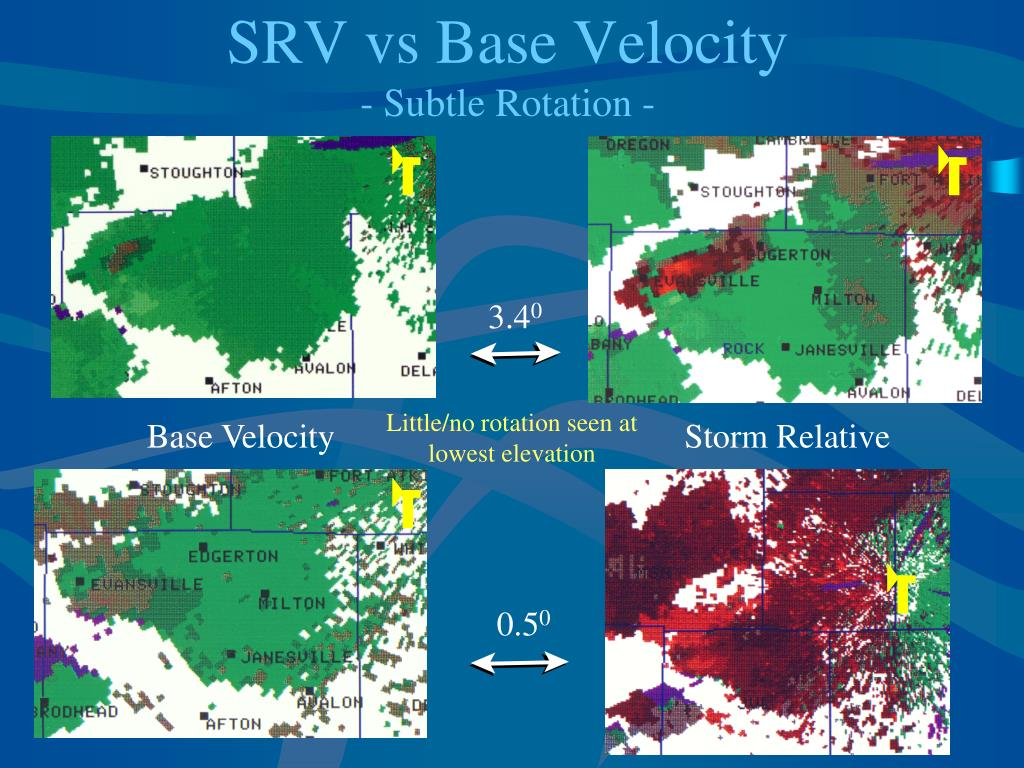 SRV vs Base Velocity