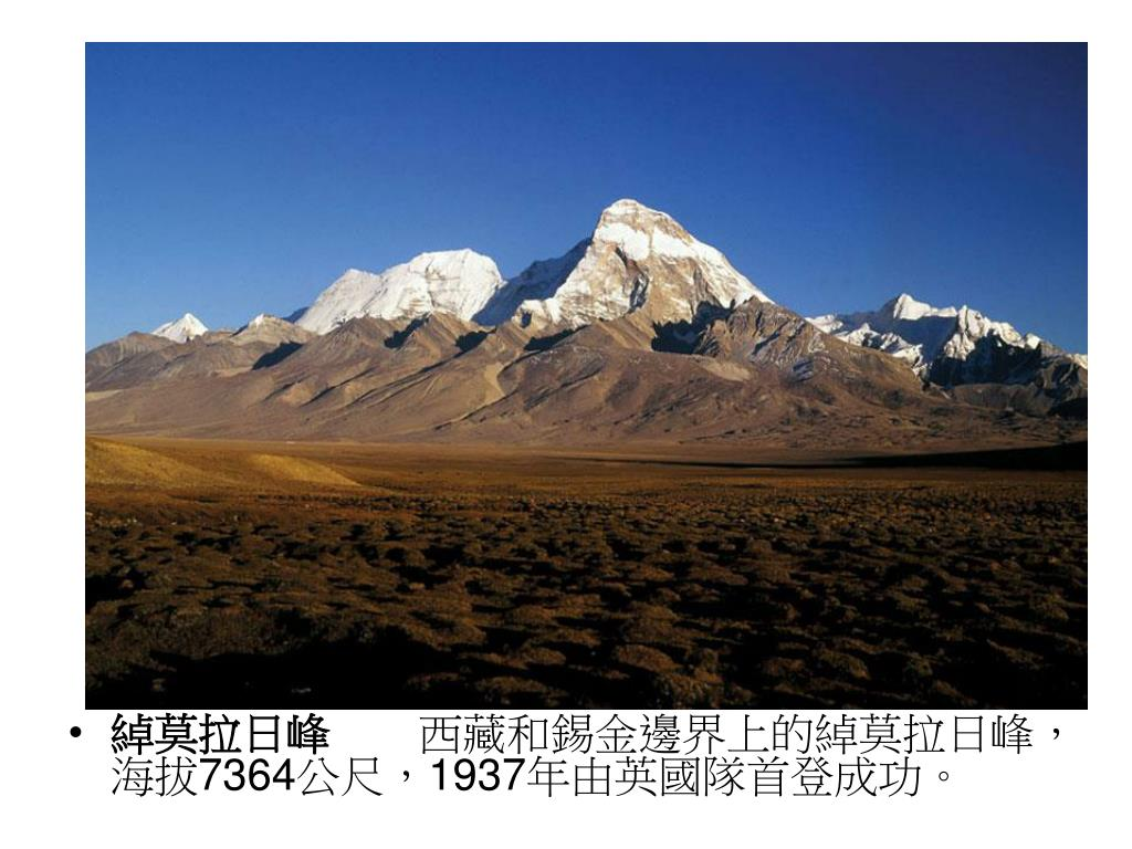 綽莫拉日峰