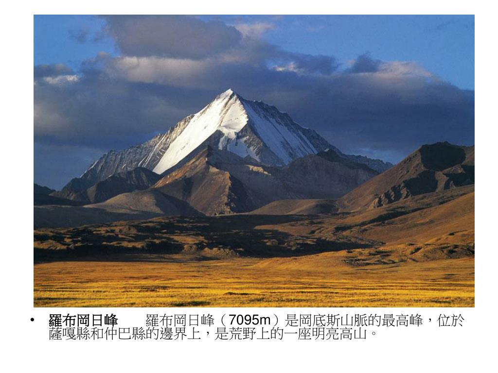 羅布岡日峰