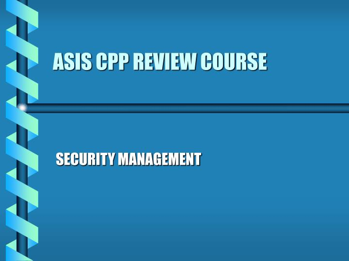 Asis cpp review course l.jpg