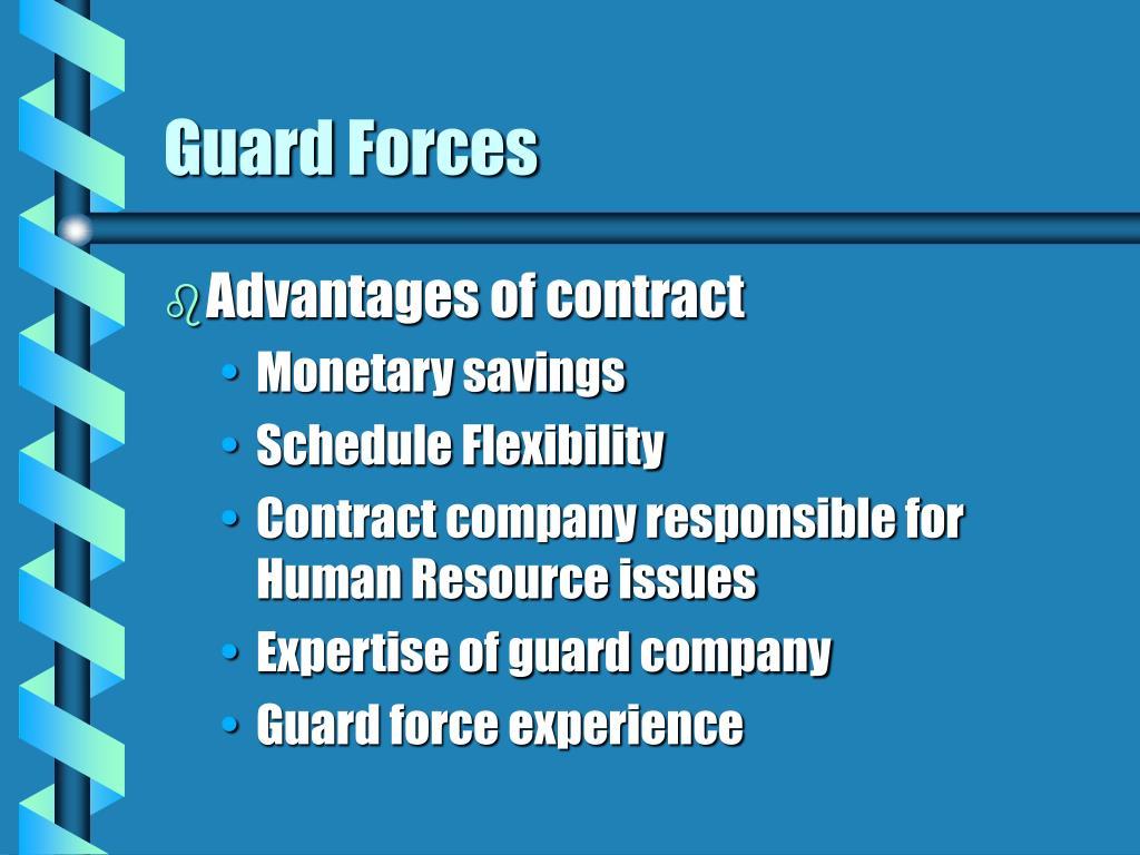 Guard Forces