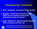 disappearing companies