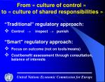 from culture of control to culture of shared responsibilities