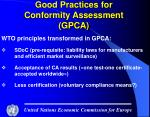 good practices for conformity assessment gpca