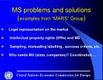 ms problems and solutions examples from mars group