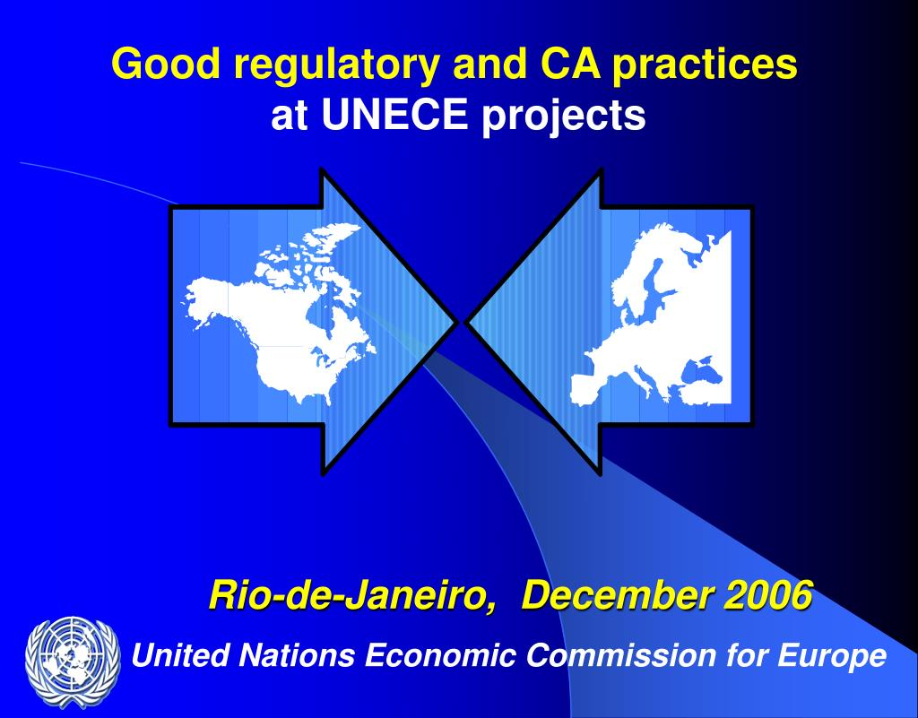 Good regulatory and CA practices