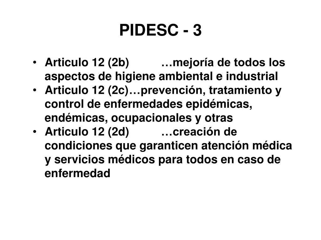 PIDESC - 3