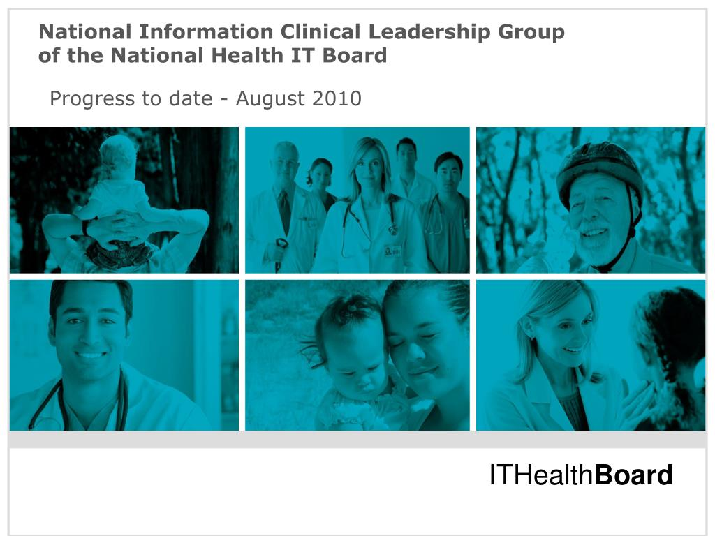 National Information Clinical Leadership Group