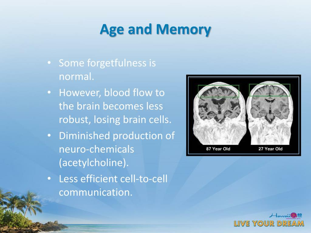 Age and Memory