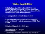 vwal capabilities