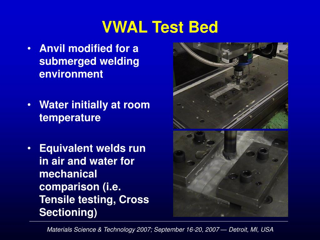 VWAL Test Bed