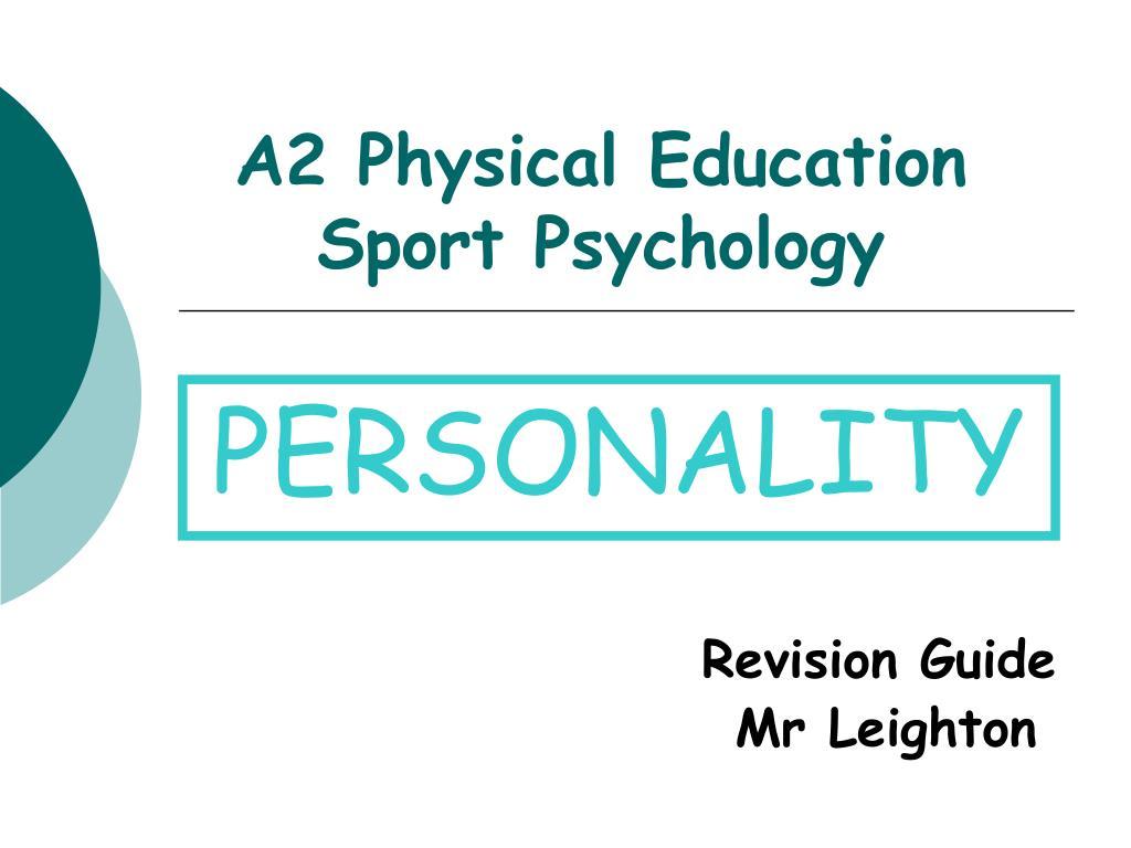 a2 physical education sport psychology
