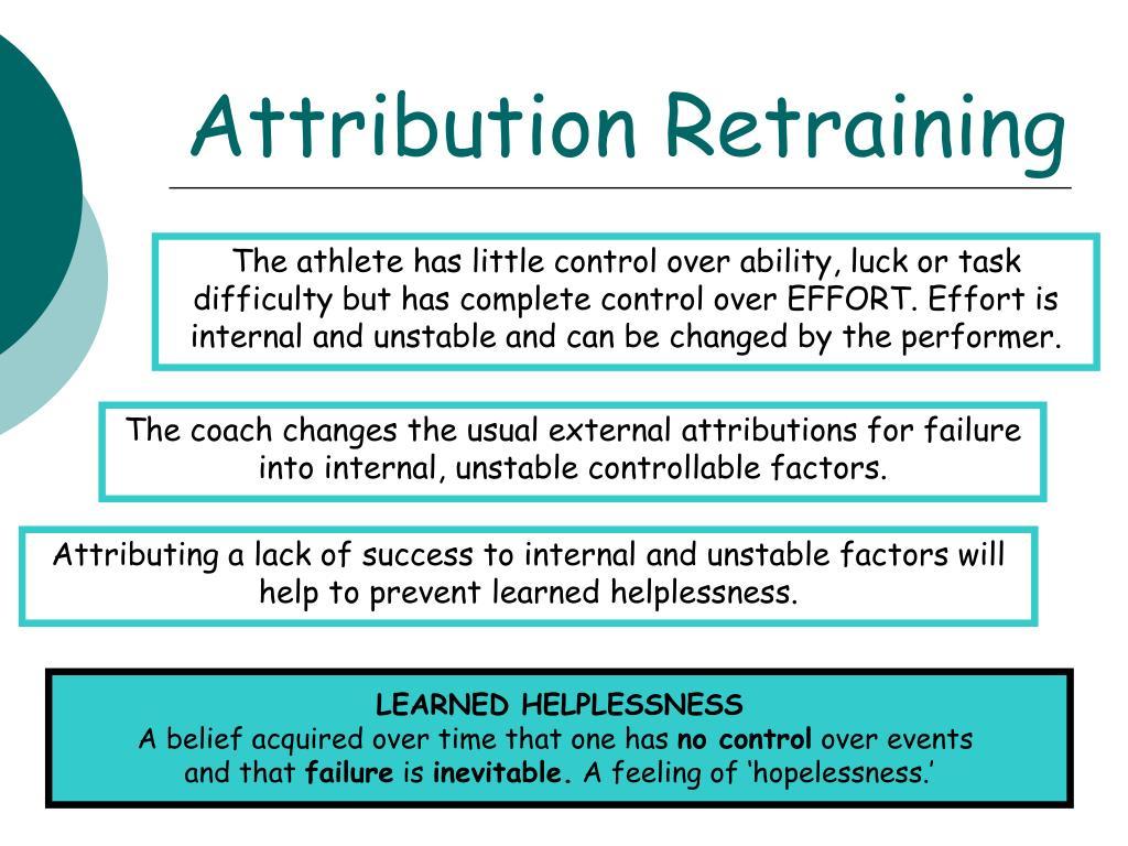 Attribution Retraining