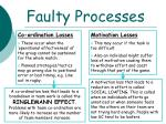 faulty processes