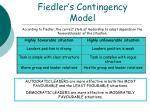 fiedler s contingency model