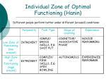 individual zone of optimal functioning hanin53
