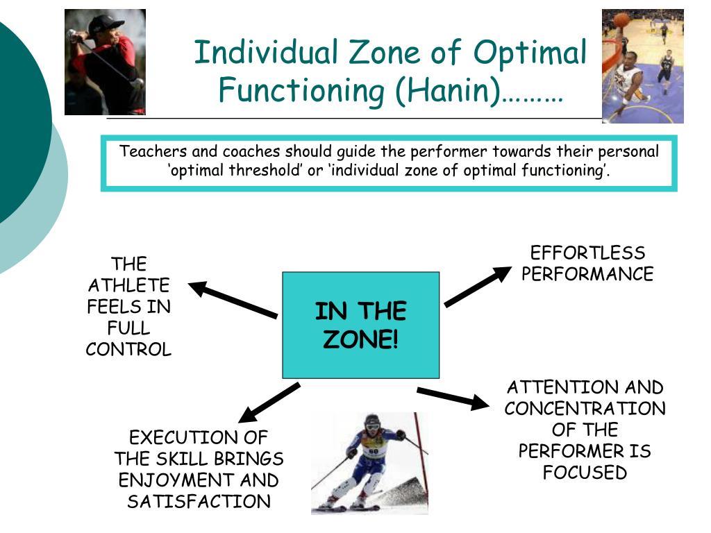 Individual Zone of Optimal Functioning (Hanin)………