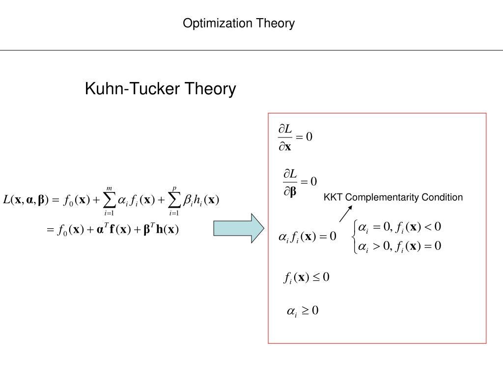 Optimization Theory