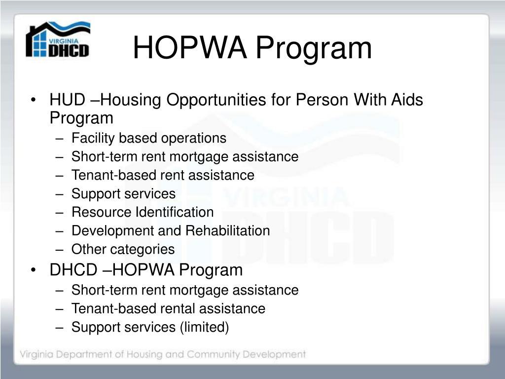 HOPWA Program