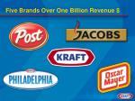 five brands over one billion revenue