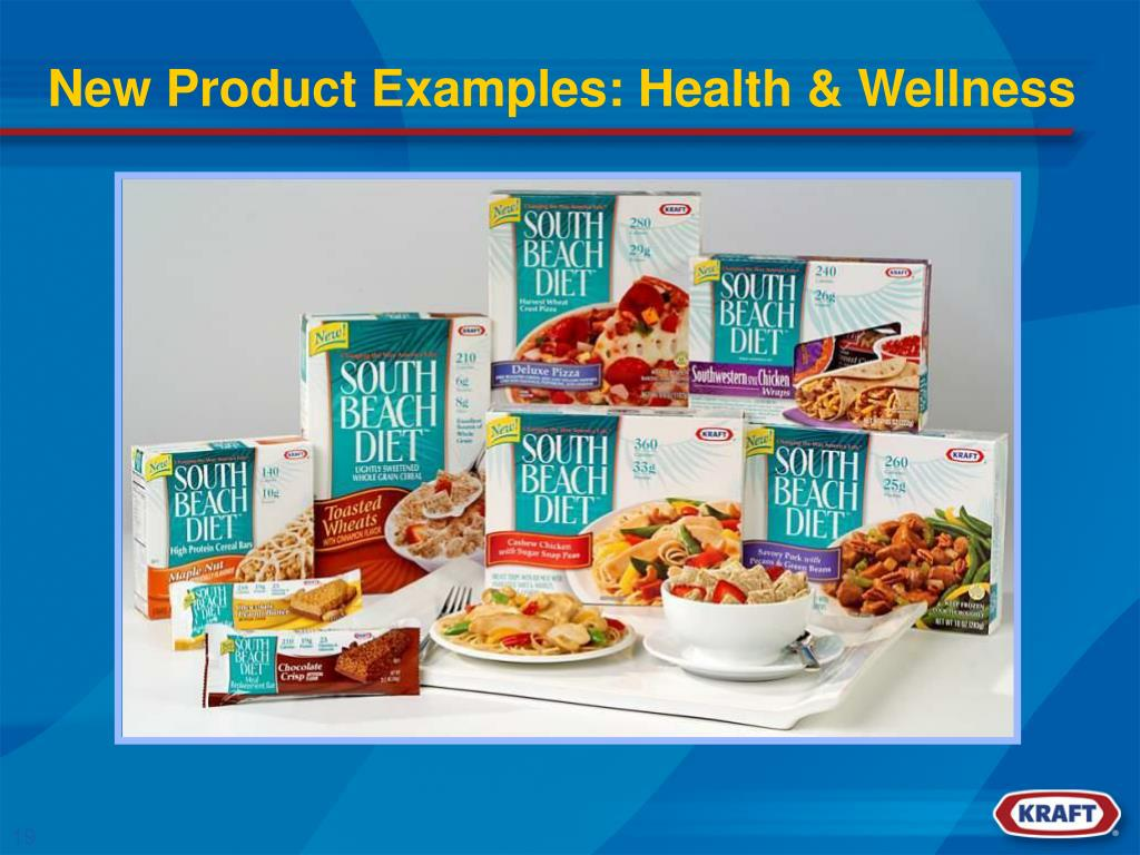 New Product Examples: Health & Wellness