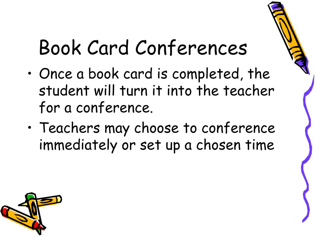 Book Card Conferences