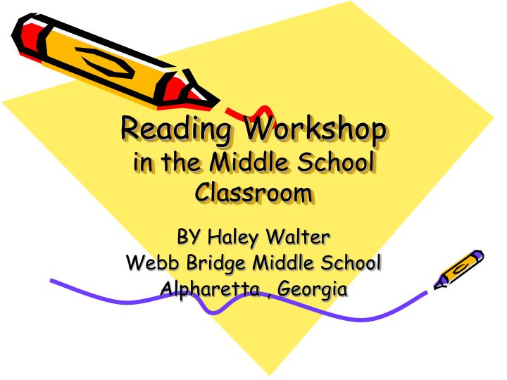 Reading workshop in the middle school classroom