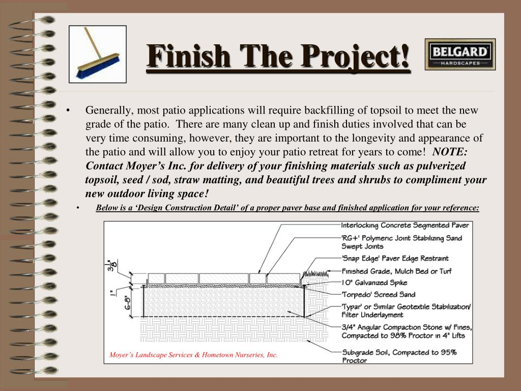 Finish The Project!