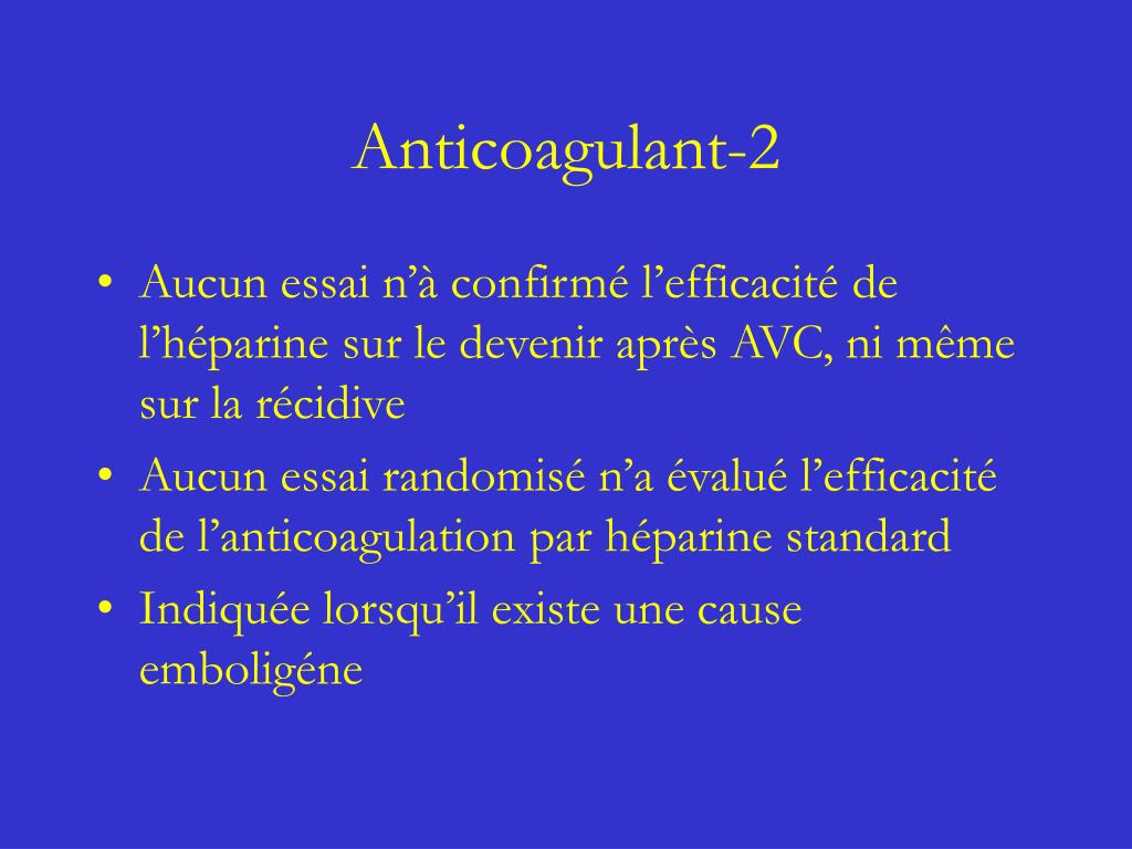 Anticoagulant-2
