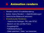 a animation rendern