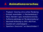 a animationsvorschau